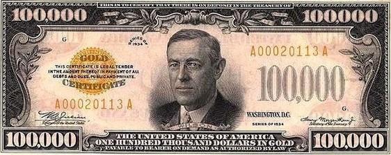 100000 долларовая купюра памятные монеты сша сакагавея